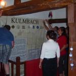 Einrichtung der Ausstellungsräume