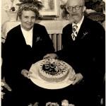 Fritz und Ella Trendel Gol. Hochzeit 1950