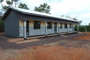 Neues Schulgebäude Tansania, 2012