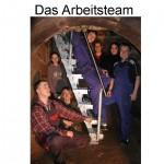 Das Arbeitsteam-Treppe